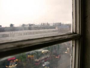 Postal: Mirando la lluvia