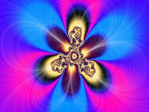 Flor fractal