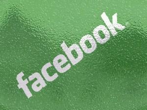 Postal: Facebook en verde