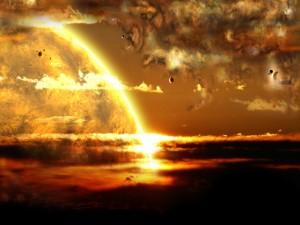 Postal: Planetas cercanos a la luz