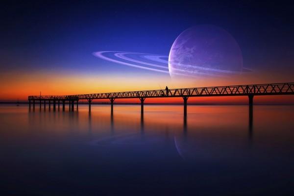 Puente en un nuevo planeta