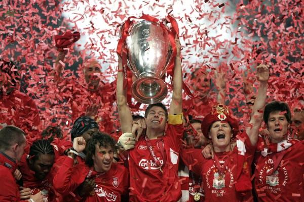 Liverpool F.C. campeones de la UEFA 2005 en Estambul