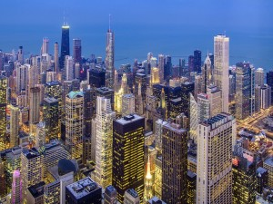 Edificios de la ciudad de Chicago