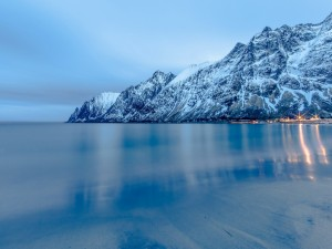 Postal: Paisaje marino (Noruega)