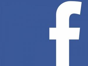 Postal: La F de Facebook