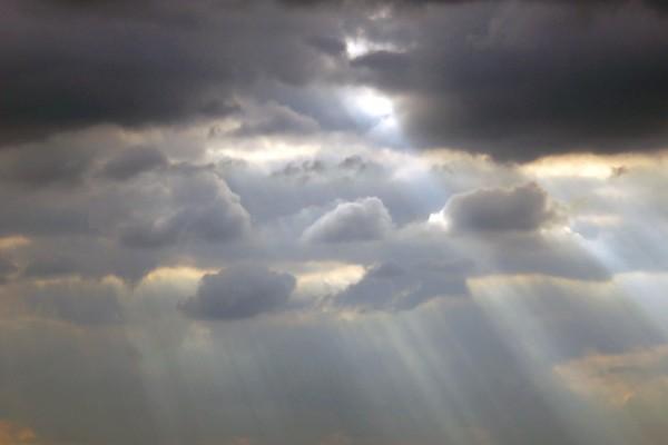 Luz en un día gris