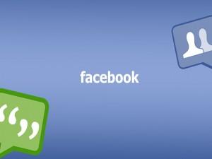 Postal: Charlas y amigos en Facebook