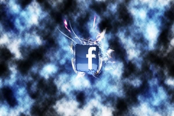 Facebook chocando