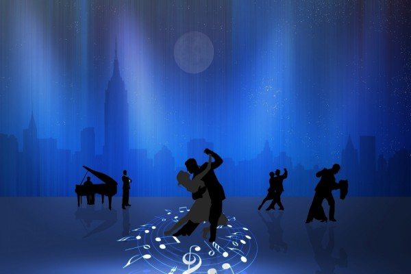 Parejas bailando