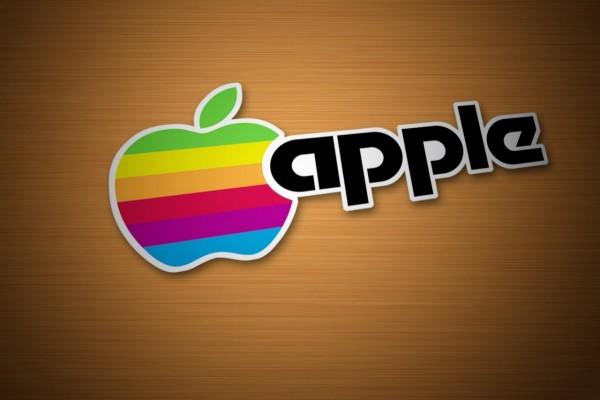 Apple colorido
