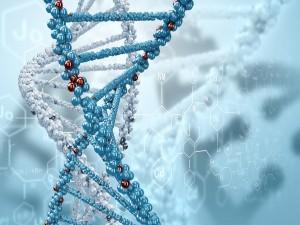 Fórmula ADN en 3D