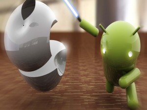 La fuerza de Android contra Apple