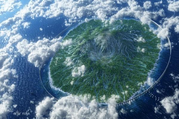 Isla amurallada