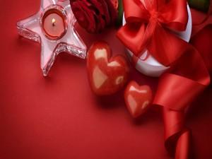 Adornos para el Día de San Valentín