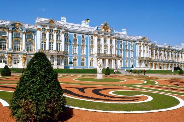 El Palacio de Catalina visto desde los jardines
