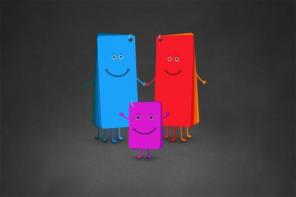 Gran familia de colores