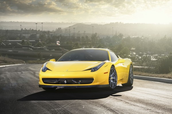 Brillante Ferrari 458