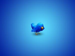 Postal: El simpático pajarito de Twitter