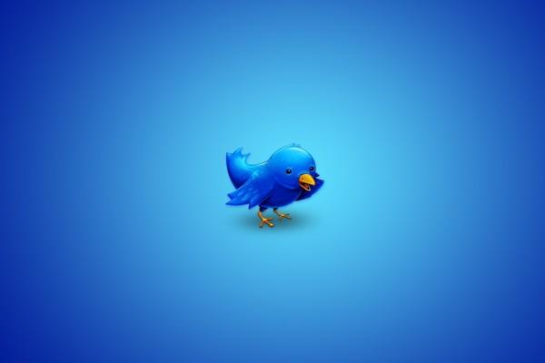 El simpático pajarito de Twitter