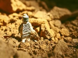 Momia lego