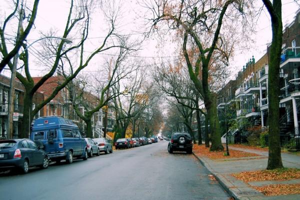 Calle de Montreal, Canadá