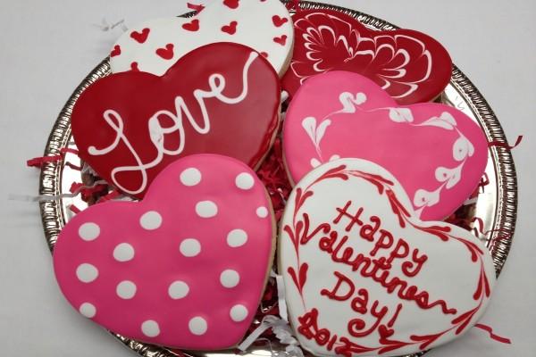 """Galletas """"Feliz Día de San Valentín"""""""