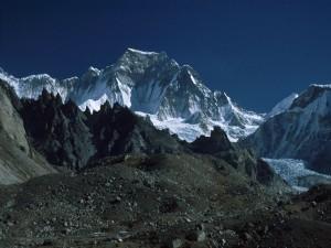 Vista del Gyachung Kang