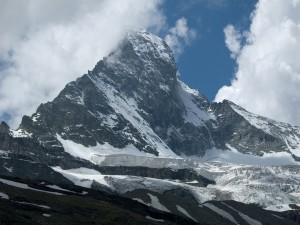 La cara norte del Matterhorn