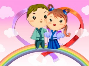 Amor en el arcoíris