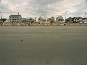 Postal: Casas en la playa