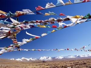 Postal: Colores en el Tibet