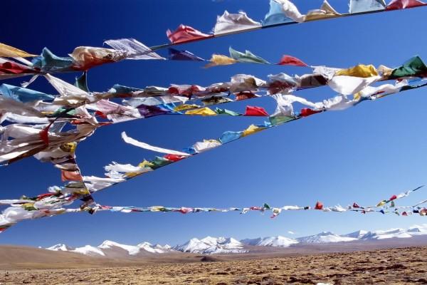 Colores en el Tibet