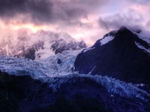 Postal: Frío en la montaña
