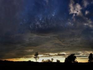 Oscuridad en el cielo
