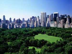 Postal: Central Park, Nueva York
