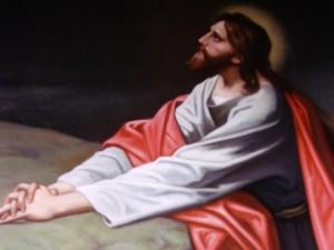 Jesucristo orando