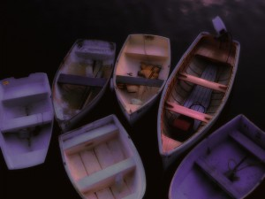 Barcas de madera