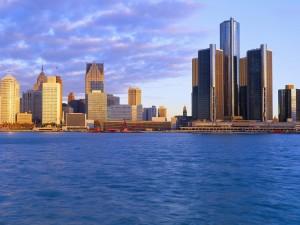 Postal: La ciudad de Detroit, Míchigan