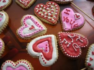 Galletas caseras para el Día de San Valentín