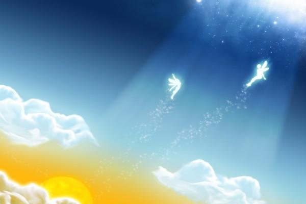 Hadas en el cielo