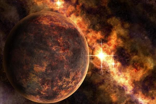 Estrellas y planeta