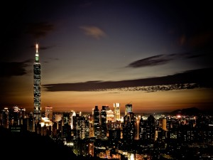 Noche en Taipei