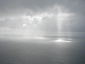 El mar y la luz del sol