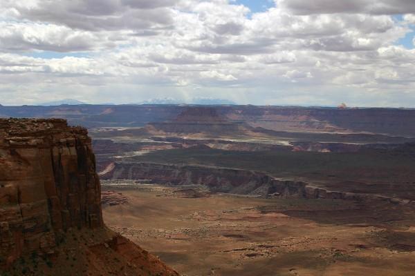 Vistas en el cañón
