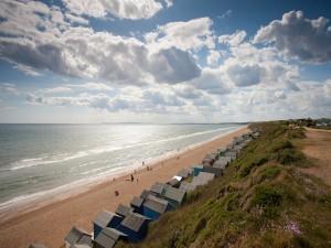 Postal: Un buen día en la playa