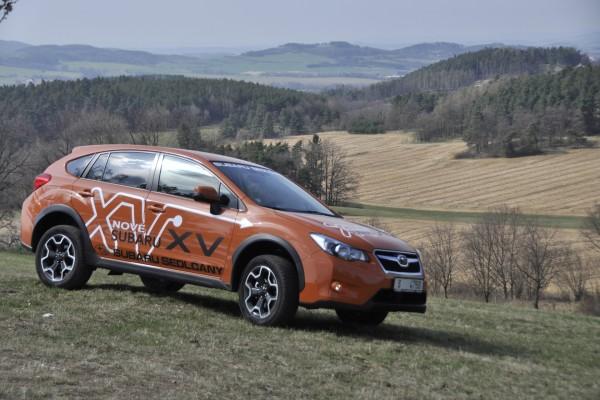 Subaru XV en el campo