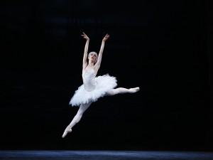 La bailarina Lucy Green