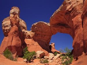 Rocas en el Parque nacional de los Arcos