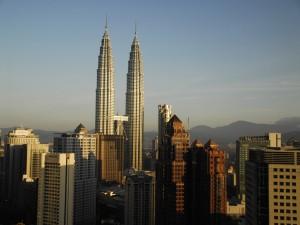 Postal: Las Torres Petronas, Kuala Lumpur