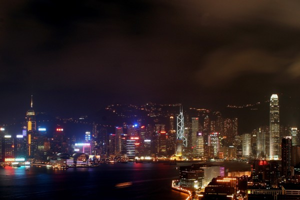 Luces de Hong Kong